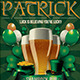 Saint Patrick Flyer Template V2 - GraphicRiver Item for Sale