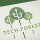 Tech Forest Logo - GraphicRiver Item for Sale