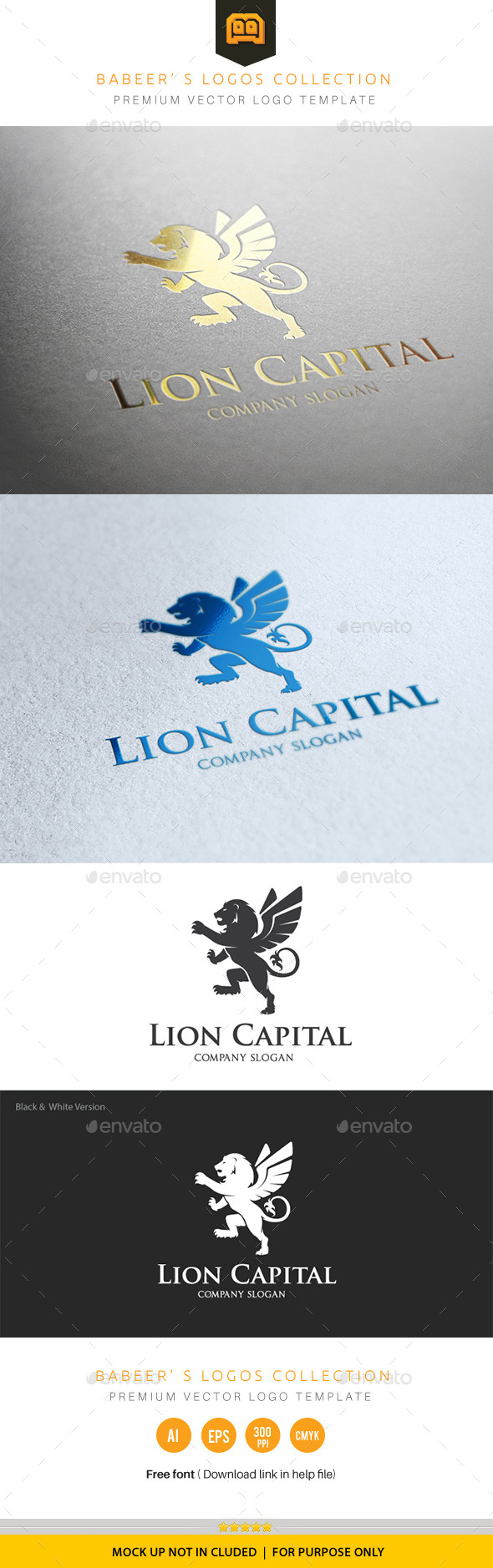 GraphicRiver Lion Capital 10068792