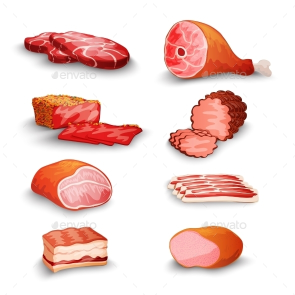 GraphicRiver Fresh Meat Set 10068851