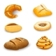 Bakery Set Isolated - GraphicRiver Item for Sale