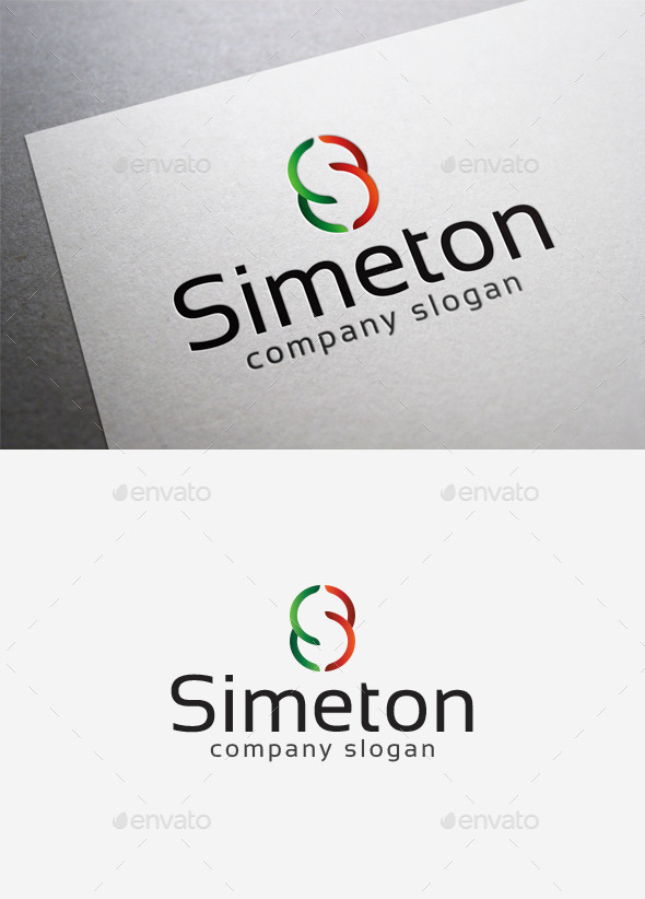GraphicRiver Simeton Logo 10068915