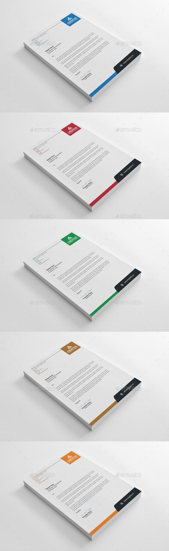 GraphicRiver Letterhead 10052549
