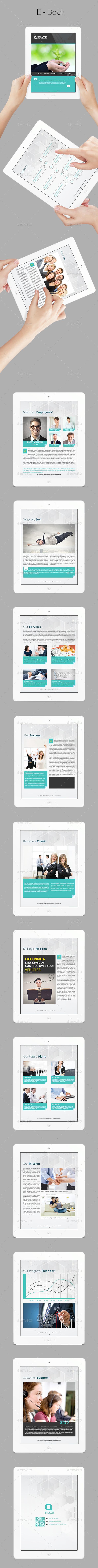GraphicRiver E-book Template 10069246