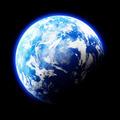 Earth Like Planet on black background - PhotoDune Item for Sale