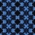 Abstract Blue Kaleidoscope Pattern - PhotoDune Item for Sale