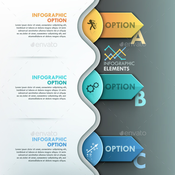 GraphicRiver Modern Infographic Paper Process Template 10069519