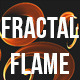 Isolated Fractal Swirl Flame