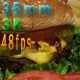 Cheeseburger And French Fries - VideoHive Item for Sale