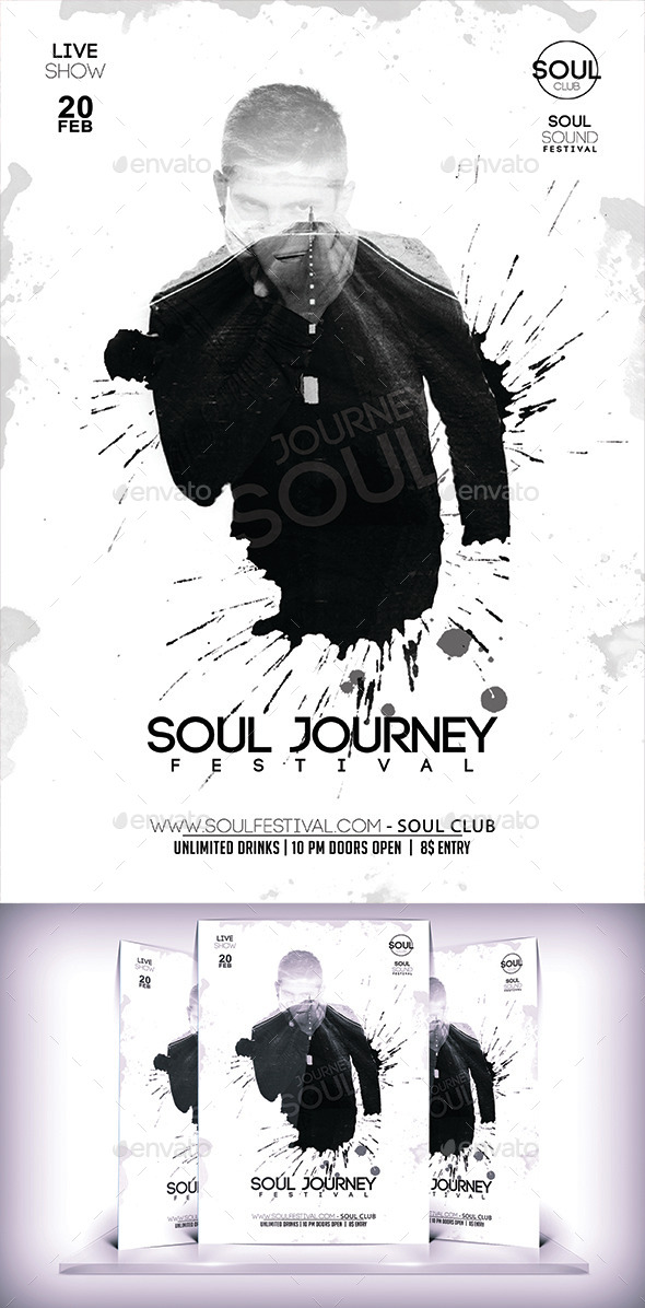 GraphicRiver Soul Festival Flyer 10069903
