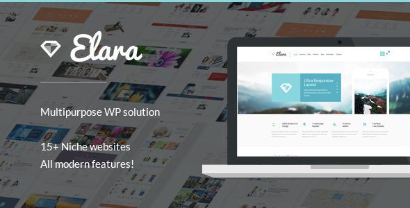 ThemeForest Elara Multipurpose Wordpress Theme 10069949