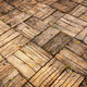 Weathered Parquet Style Decking at Oblique Angle - PhotoDune Item for Sale