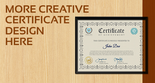 Multi Purpose Certificates Template Vol.2