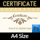 Multi Purpose Certificates Template Vol.3 - GraphicRiver Item for Sale