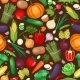 Vegetables Ingredients Seamless Pattern - GraphicRiver Item for Sale