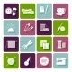 Dressmaking, Knitting and Embroidery Icons - GraphicRiver Item for Sale