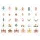 Babe Icons for Greetings Card - GraphicRiver Item for Sale