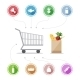 Buying Food Icons - GraphicRiver Item for Sale