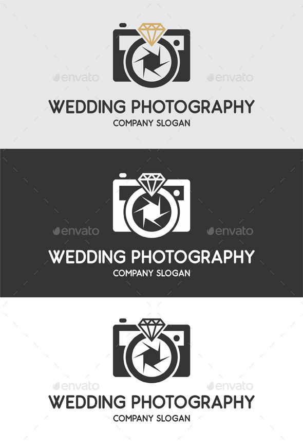 GraphicRiver Wedding Photography Logo Templates 10070364