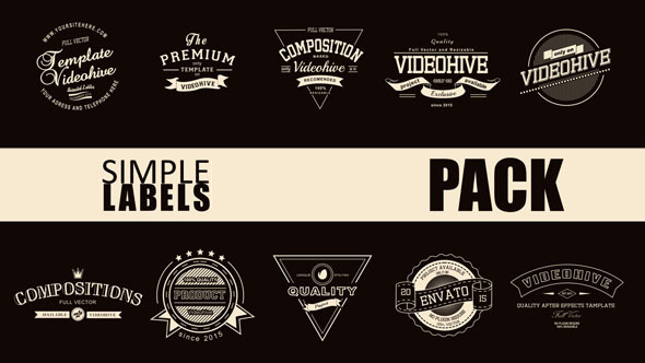 Simple Label Pack