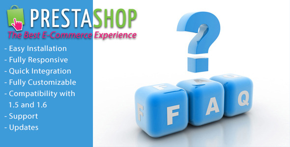 CodeCanyon FAQ Frequently Asked Questions for Prestashop 10039221
