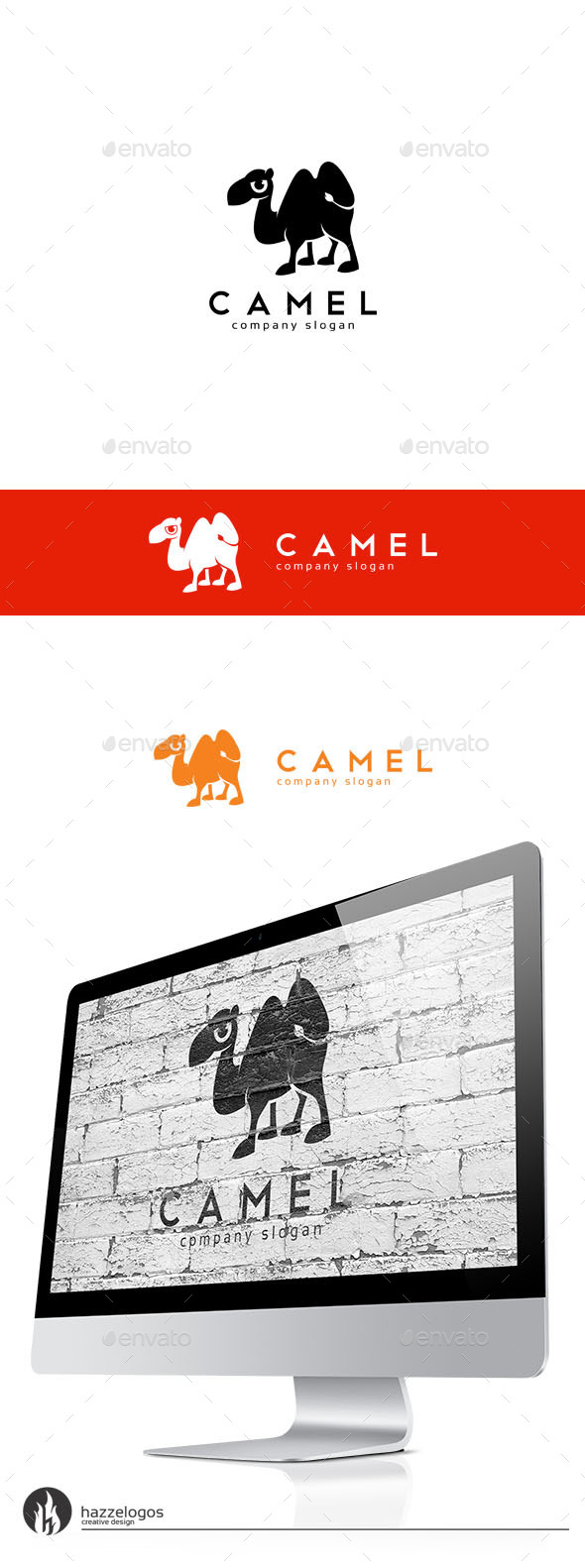 GraphicRiver Camel Logo 10070605