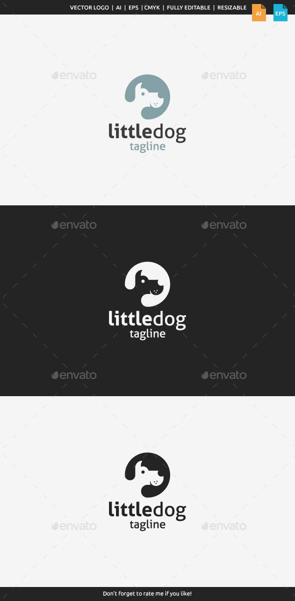 GraphicRiver Little Dog Logo 10070769