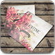 Square Postcard / Invitation Mockup - GraphicRiver Item for Sale