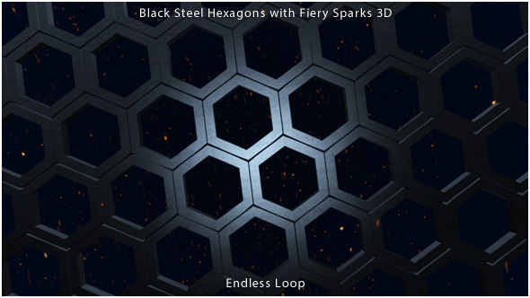 Steel Hexagons and Sparks