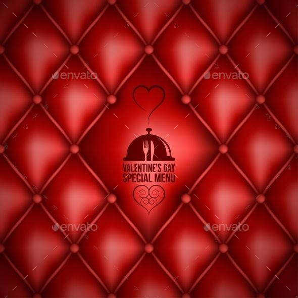 Valentines Day Menu Design