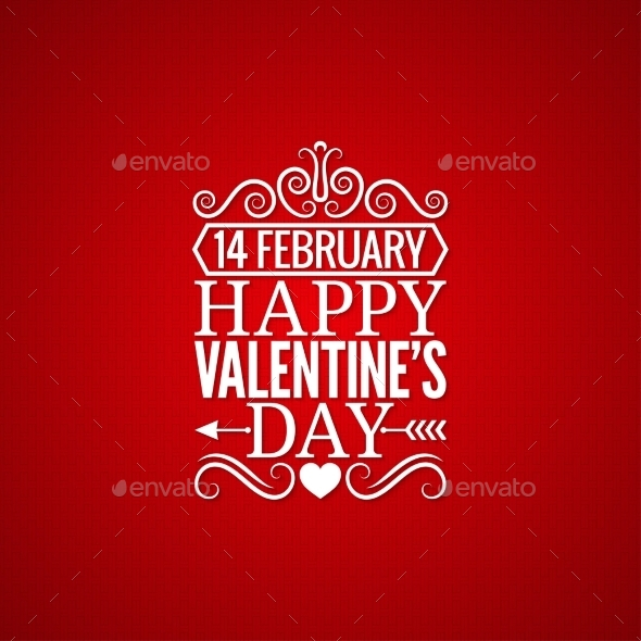 GraphicRiver Valentines Day Vintage Design Background 10070837
