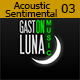 Acoustic Romantic and Sentimental 03