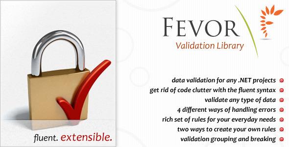 CodeCanyon FEVOR Validation Library 127358