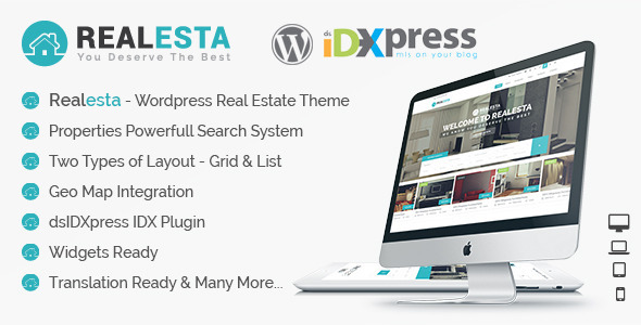 ThemeForest Realesta Wordpress Real Estate Theme 9768698