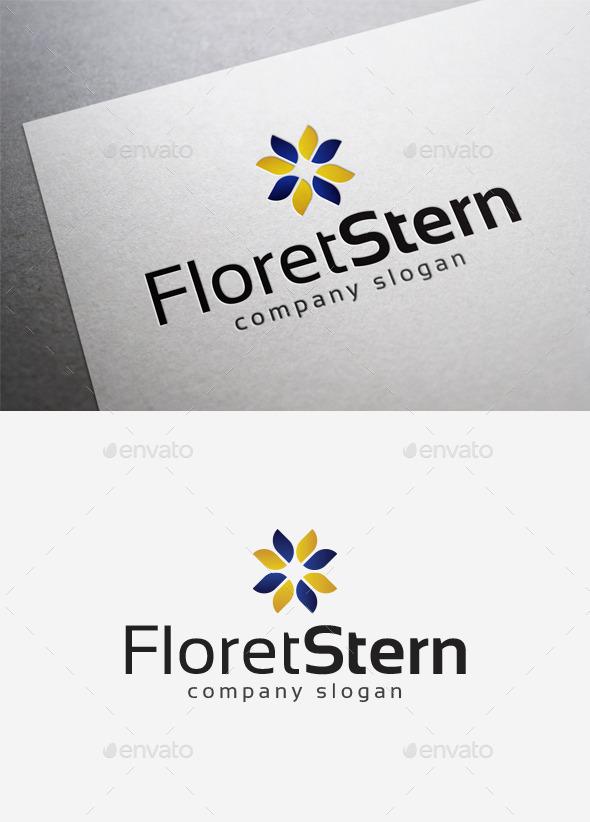 GraphicRiver Floret Stern Logo 10071358