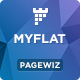 MYFLAT - Real Estate Pagewiz Template - ThemeForest Item for Sale