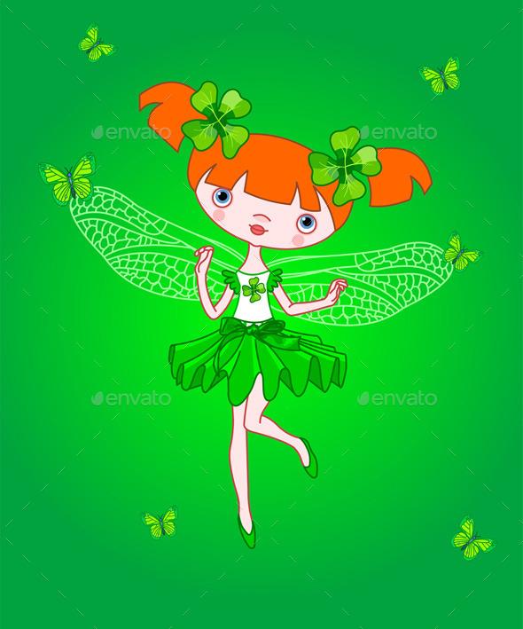 GraphicRiver Clover Fairy 10072061