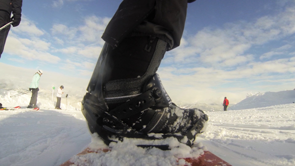 VideoHive View From The Snowboard 10072538