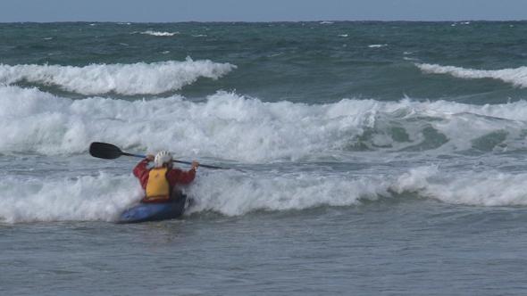 VideoHive Great Ocean Road Kayaking 011 10072610