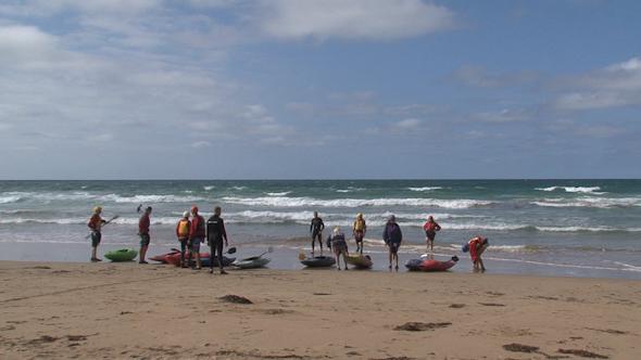 VideoHive Great Ocean Road Kayaking 02 10072626