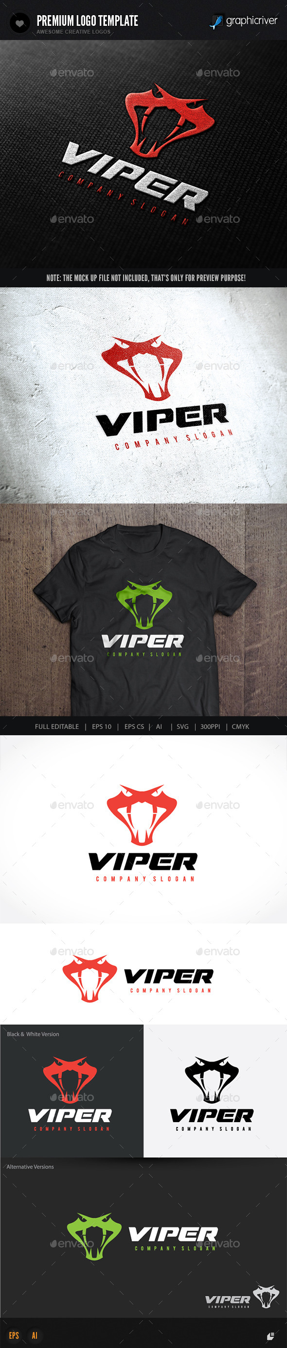GraphicRiver Viper 10073403