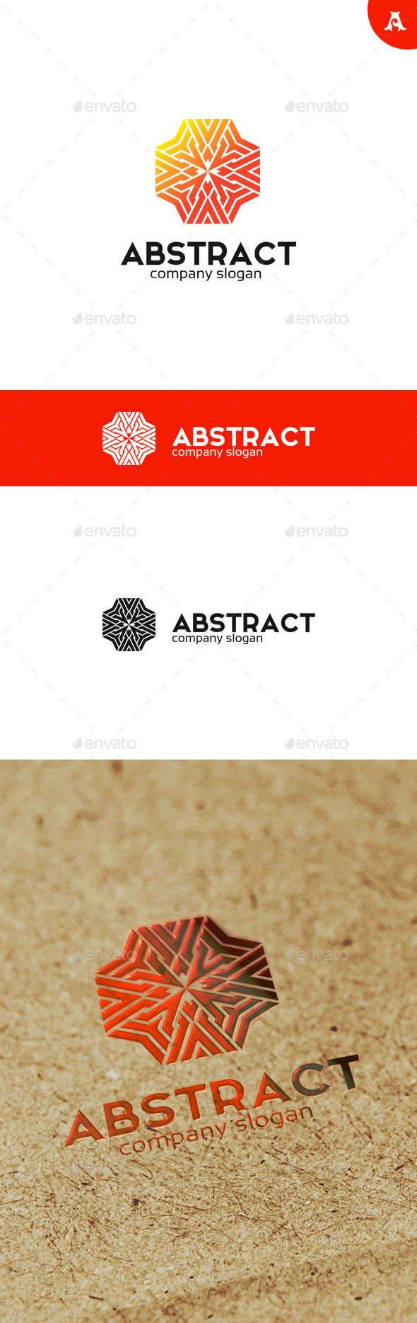 GraphicRiver Abstract V2 Logo 10073596