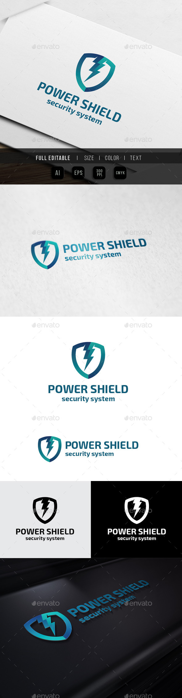 GraphicRiver Energy Shield Security System 10073620