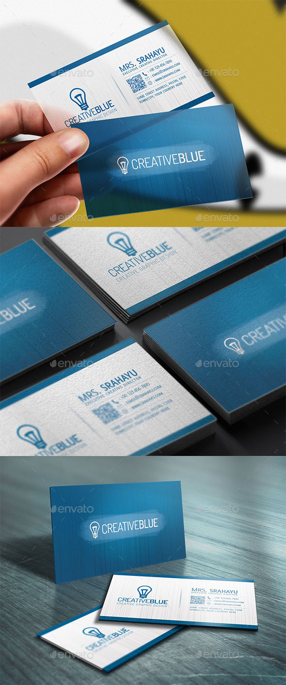 GraphicRiver Corporate Business Card 10073955