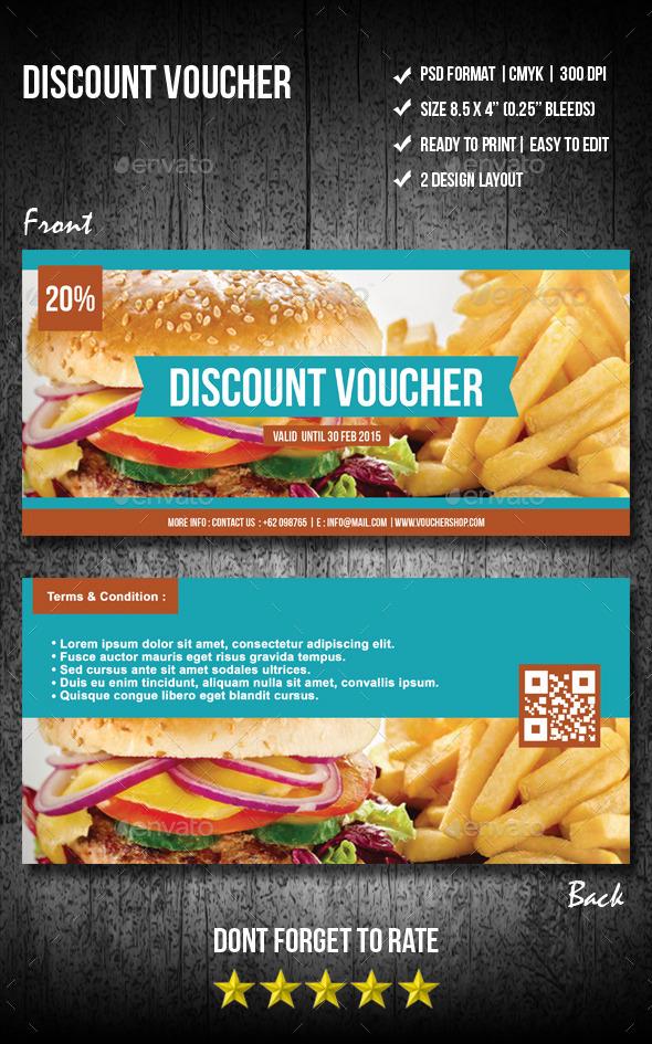 GraphicRiver Discount Voucher 10073971