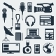 Set of Journalism Icons - GraphicRiver Item for Sale