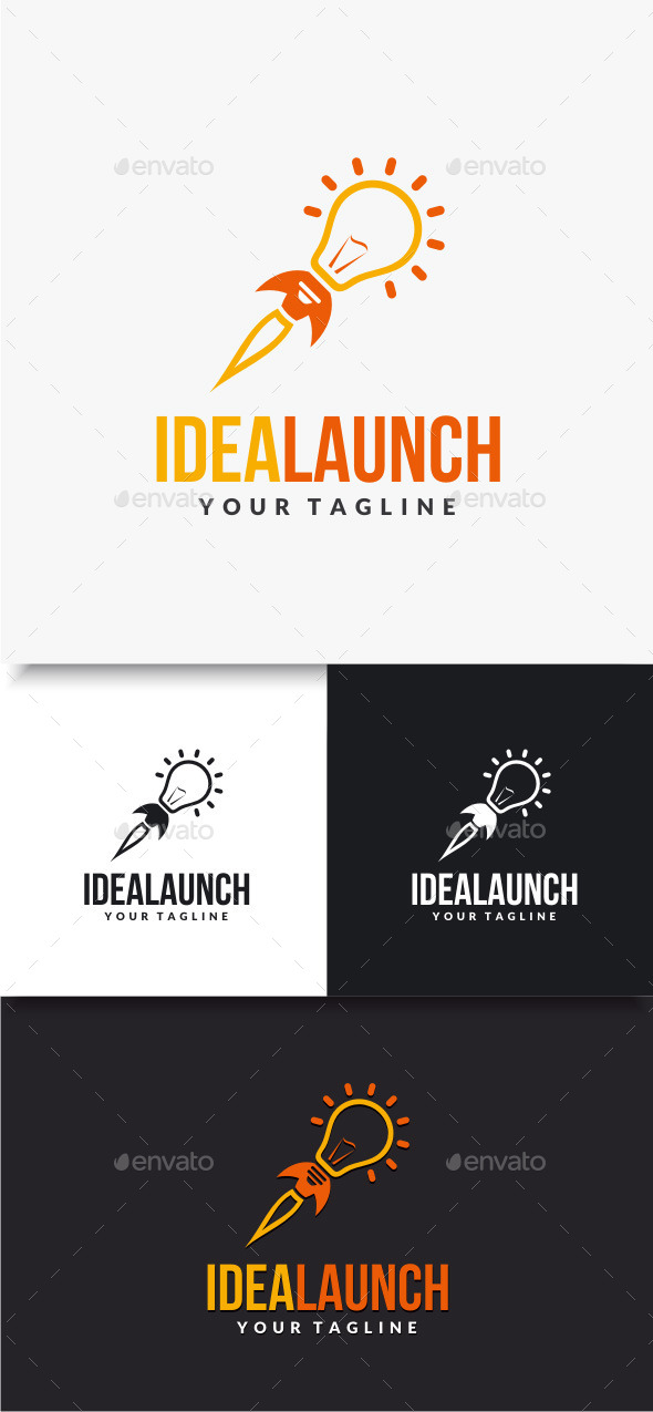 GraphicRiver Idea Launch Logo 10074418