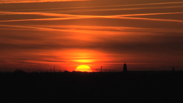 VideoHive Sunset Friesland 10074430