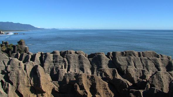 VideoHive Pancake Rocks New-Zealand 3 10074547