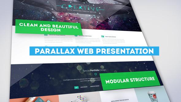 AE模板:潮流时尚 企业公司网站推广 宣传介绍 商业网站开发设计模板